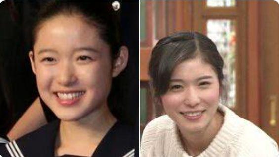 藤野涼子と松岡茉優似ている画像