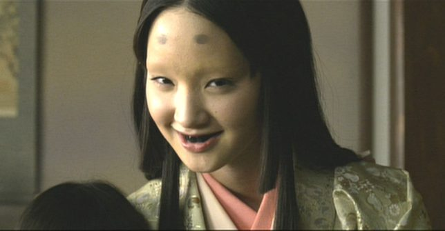 清須会議(映画)の三法師の母・松姫(剛力彩芽)は実在しない松姫の笑い